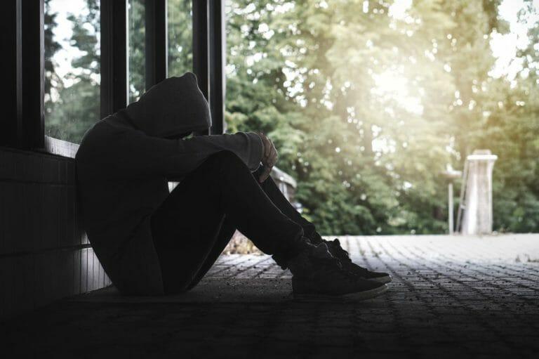 A man struggling with bipolar disorder