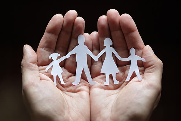 Representation of substance abuse treatment family