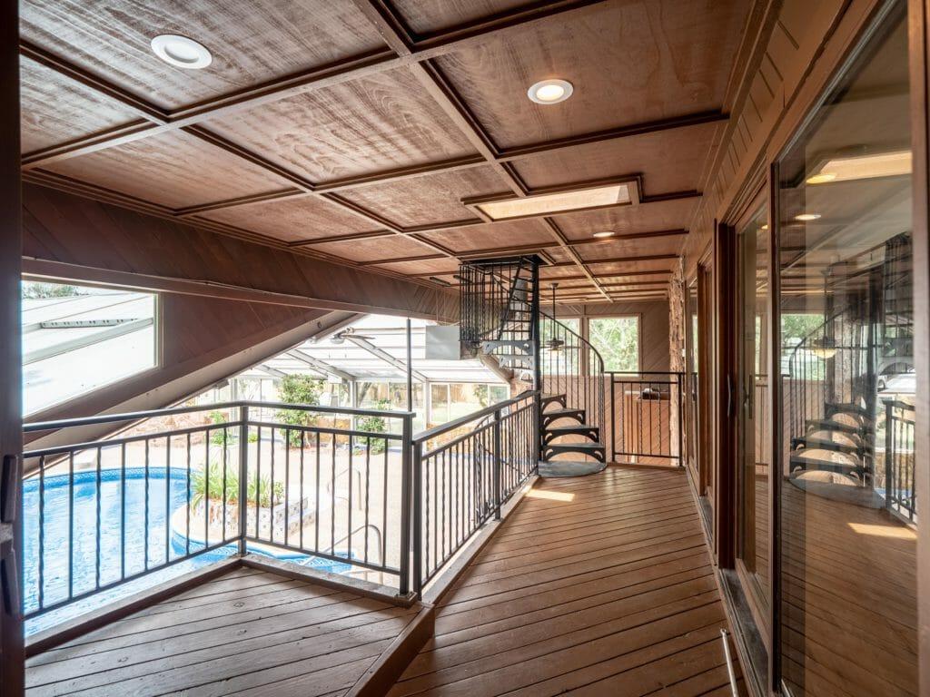Deck in residential program